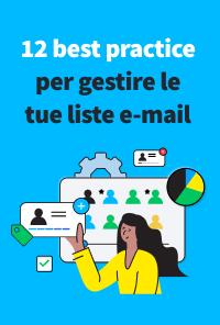 12 best practice per gestire le tue liste e-mail