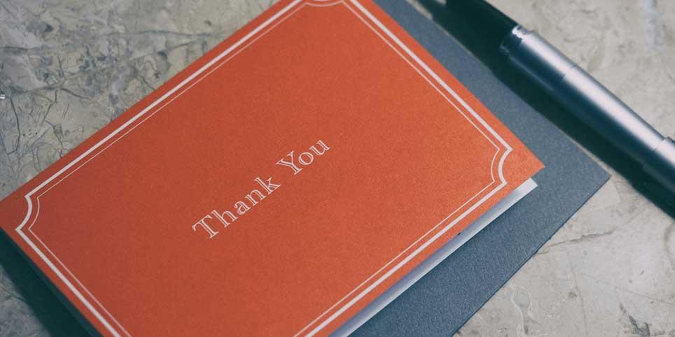 Как сказать «спасибо»: 20 советов и 14 примеров страниц благодарности