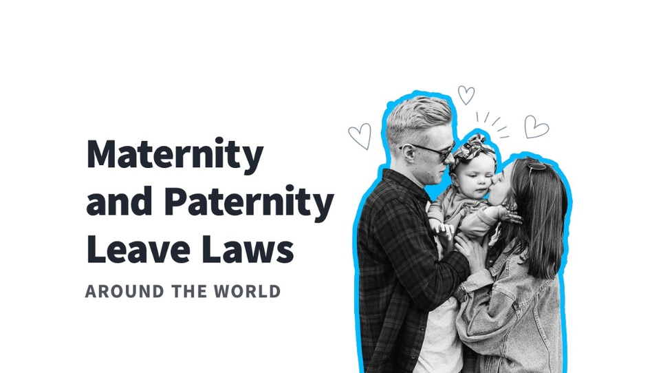 A Closer Look at Paternity and Maternity Leave by Country
